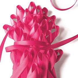 毎年10月は乳がん早期発見啓発ピンクリボンキャンペーン。The Bは応援しています!