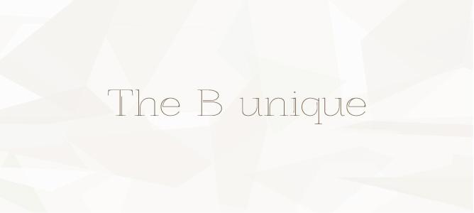 The B unique